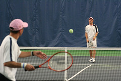 Ettore and Angelo sustain a rally (Rossetti Brothers Tennis) Tags: rally tennis longest