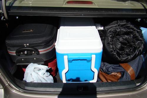 後車廂的行李