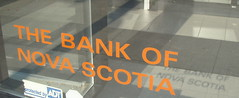 The Bank of Nova Scotia (PinkMoose) Tags: shadow novascotia sansserif