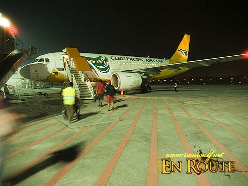 NAIA T3 Tarmac Boarding