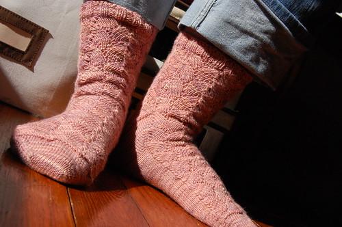 Shellac Socks, take four