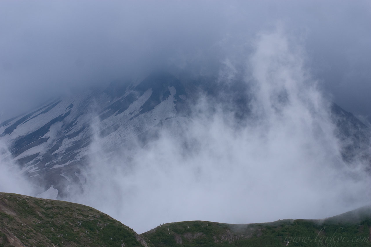 Rising Mist, Mount Saint Helens, Washington, Summer 2007