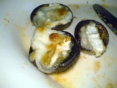 Grillede champignoner med gedeost