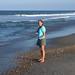 Betty finding shells