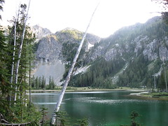 Upper Larch Lake (tennessee treader) Tags: lake ice loop larch