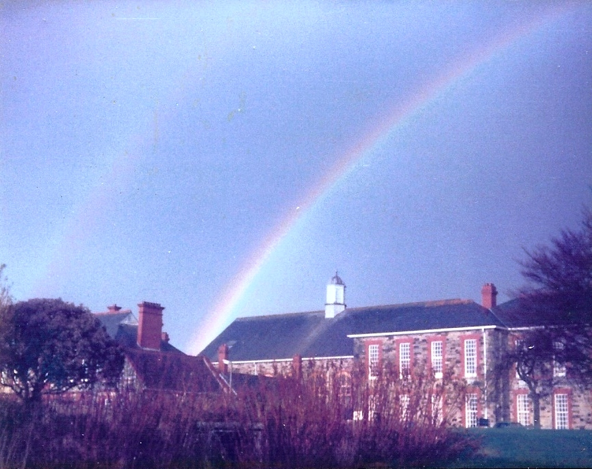 rainbow over Foster block !