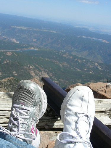 Two Feet at 14,110 Feet! by you.