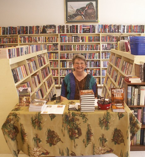 Loretta Rogers at The Book Basket