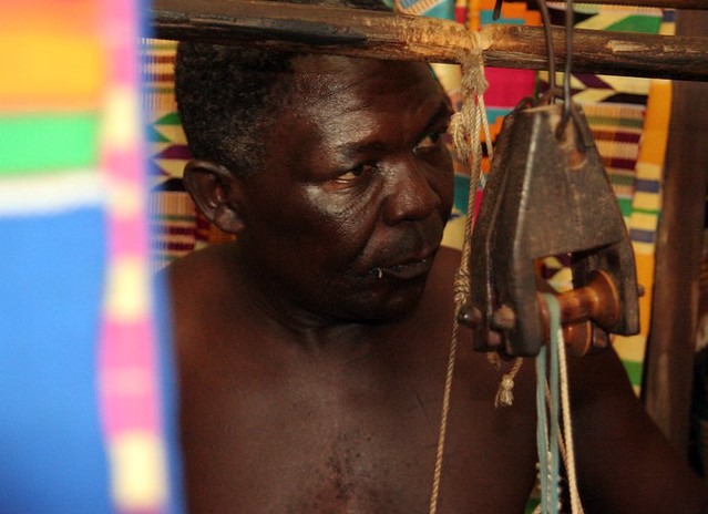 Kente weaving, Adanwomase