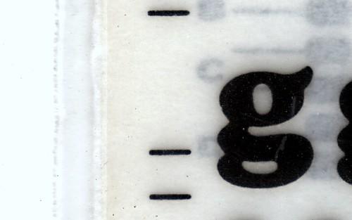 Cooper Black G Old school lettering