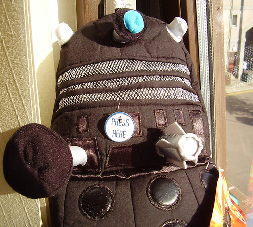 DALEK SEC - Hot Water Bottle Cover/Pyjama Case