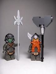 Cybercastlepunk (Ble Star) Tags: castle lego tech dwarf troll cyber minifigure