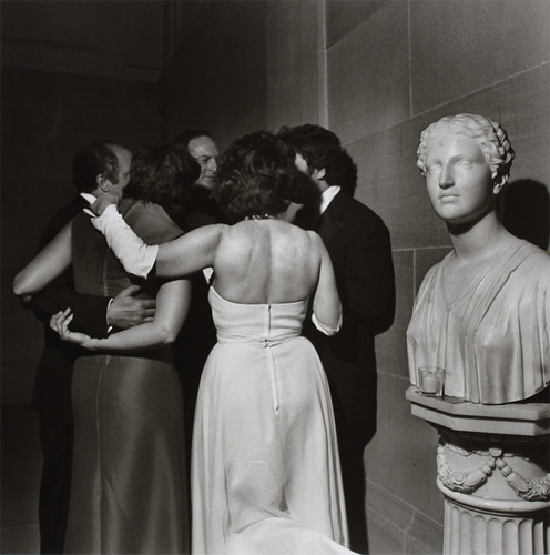 Elegant Group and Statue, Washington, DC, May 1975 by CCNY Libraries