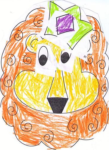 Cassies Lion Artwork