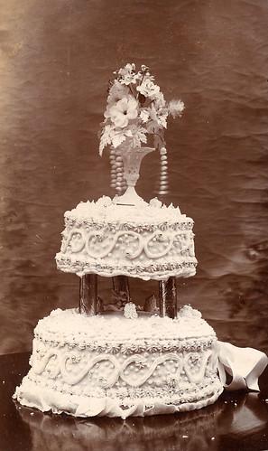 Homemade wedding cake Found image 39 This is a photo of E Robbins wedding