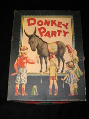 3047-W-Donkey Party Game (1) (bronc) Tags: party dice game vintage antique donkey bowling chew clue pickupsticks candyland gameboard chuggedy