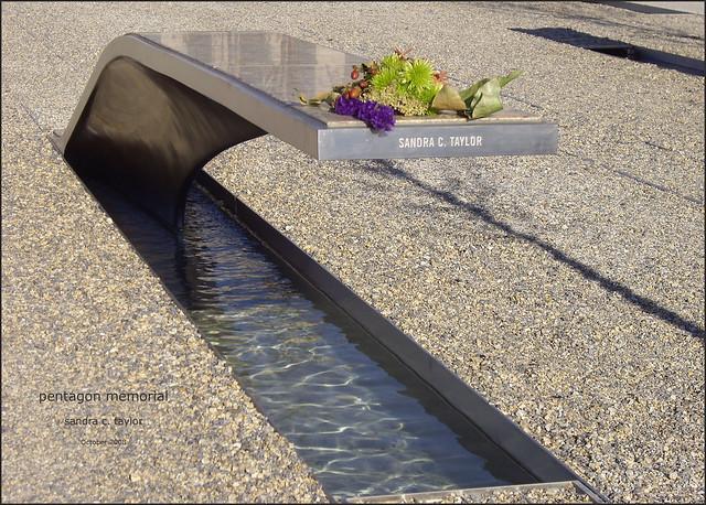 Sandra C. Taylor -- Pentagon 9-11-01 Memorial, Arlington (VA) by Ron Cogswell