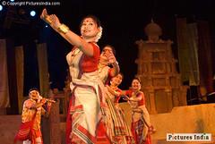Rangoli bihu dance