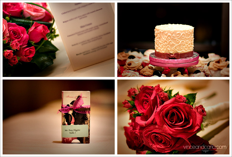details wedding flower gum menu cake fondant