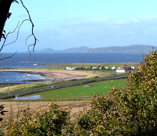 Beach and Cumbrae