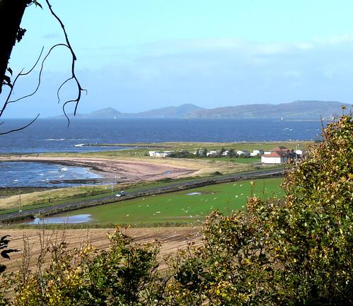 Beach and Cumbrae