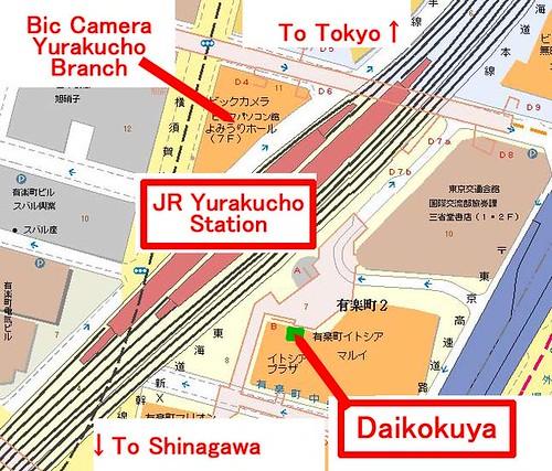 yurakucho map