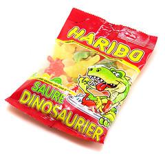 Haribo Saure Dinosaurier
