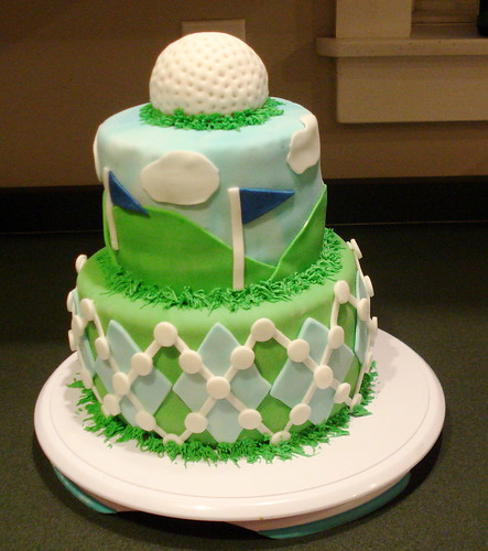 Golf Ball Cake Decorations