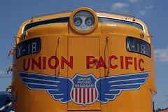 X-18 (When lost in.....) Tags: railroad history cars museum illinois suburban union rail rr trains unionpacific past chicagoland smalltownusa chicagosuburbs illinoisrailwaymuseum tolleys