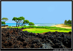 18th Tee Box Jack Nicklaus Signature Golf Course (j glenn montano 3) Tags: golf jack island four hawaii big seasons box signature glenn 18th historic course tee kona montano hualalai kailua nicklaus kaupulehu justiniano aplusphoto colourartaward goldstaraward