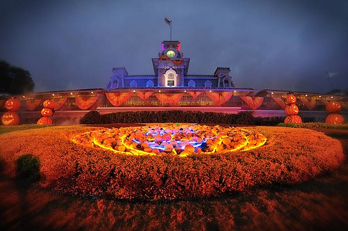 halloween at the magic kingdom by kevin eddy