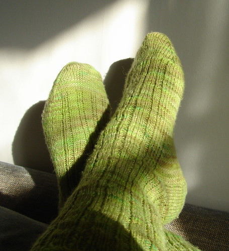 Swamp Thing Socks