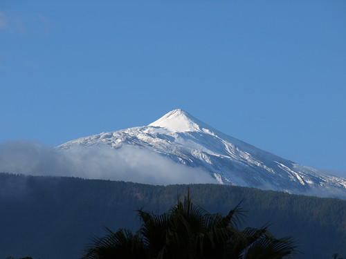 First Snows on Mount Teide