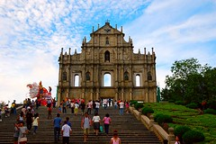 Runas de So Paulo (*GT) Tags: d50 ruins cathedral stpaul macau tamron1750f28