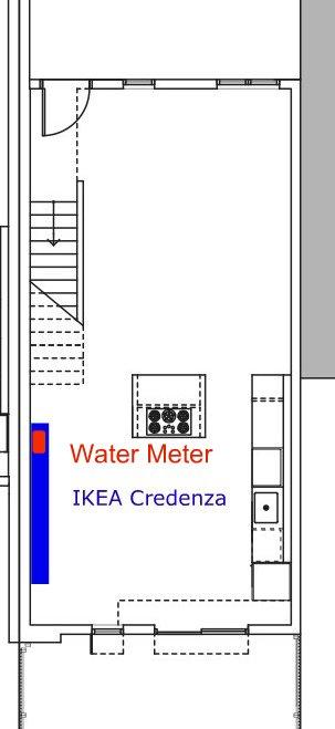 100K IKEA Credenza