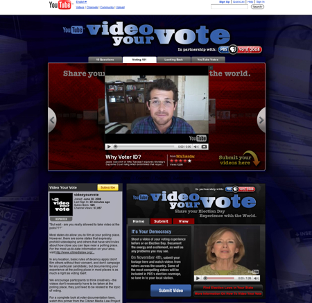 Video Your Vote