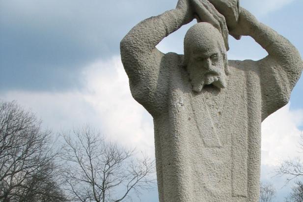 Bonifatius statue, Dokkum, The Netherlands