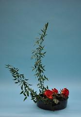 Valerie's Ikebana 5 Nov 08 (l1nda1) Tags: flower art japan ikebana flowerarrangement floralart sogetsu japaneseflower