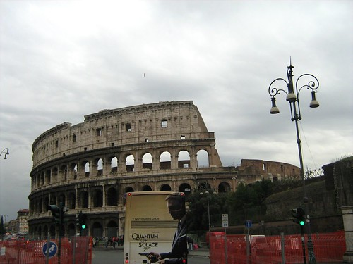 The Colosseum (and a Quantum of Solace bus)