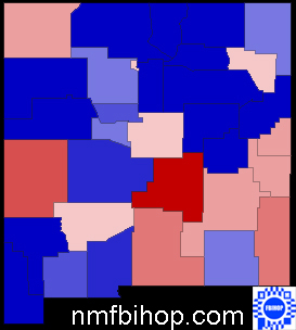 2008 Voter Registration in New Mexico by County