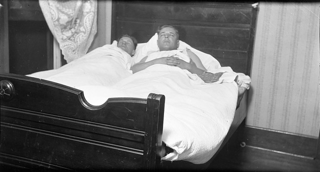 1910s - Guy Spencer and an Unknown Man