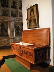 San Alejandro Urodov (abarrero2000) Tags: shrine reliquia russia holy bones orthodox relics reliquien schrein reliquary urna grabmal hieromonk chsse relicario tombeaudesaint