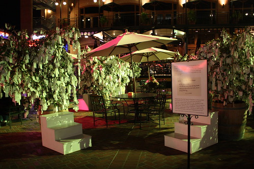 """""""Wish Tree for Pasadena"""" by Yoko Ono at One Colorado Courtyard, 11-06-08 - 17 by you."""