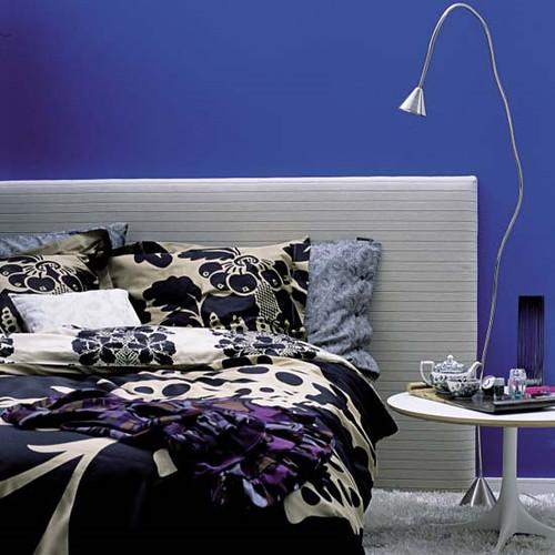 cobalt bedroom