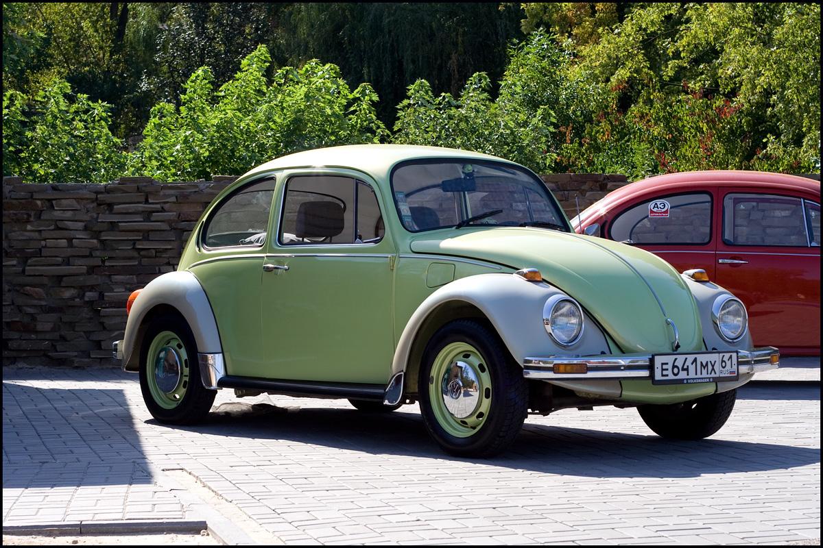 VW Beetle. go back