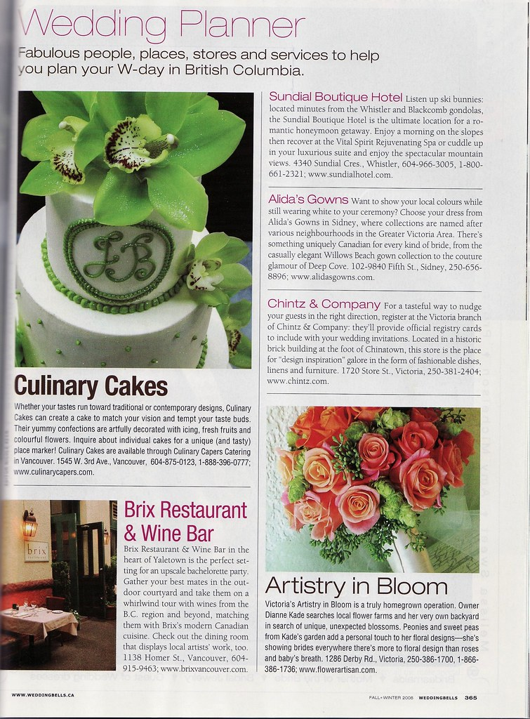 Artistry in Bloom Floral Design in Wedding Bells