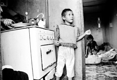Kraljevo-5 21 (Agnes Montanari) Tags: bw youth children refugee serbia kosovo displacedpersons collectivecentre