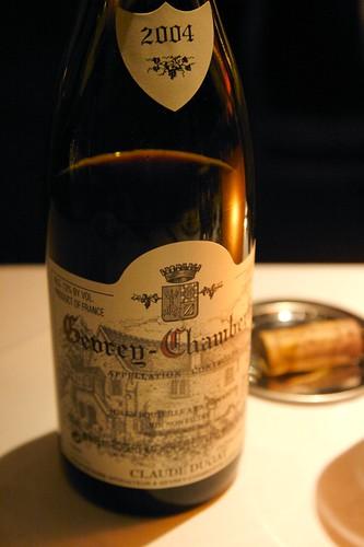 2004 Domaine Claude Dugat, Gevrey-Chambertin