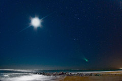Vilano Point Moon Fantasy (JamesWatkins) Tags: ocean longexposure moon seascape art nature water photoshop stars landscape coast lowlight rocks poetry shorelines florida digitalart wideangle luna atlantic nighttime coastal moonrise sirius orion beaches wa nightsky poems thesea theocean staug atlanticocean moonscape beachart afterdark seas poets naturalart highiso beautifulscenery stargazing vilanobeach d300 ps3 staugustineflorida sigma1020mm creativewriting starscape darkscape starrystarrynight oceanscape beachscenes 5photosaday flickrsbest theeastcoast the4elements oceanart jameswatkins poetryandpicturesinternational coastalscenes poemsandpictures oceanvista coastalart thebeachatnight damniwishidtakenthat flickrlovers skyportraits moonportraits vilanobeachflorida thefloridacoast