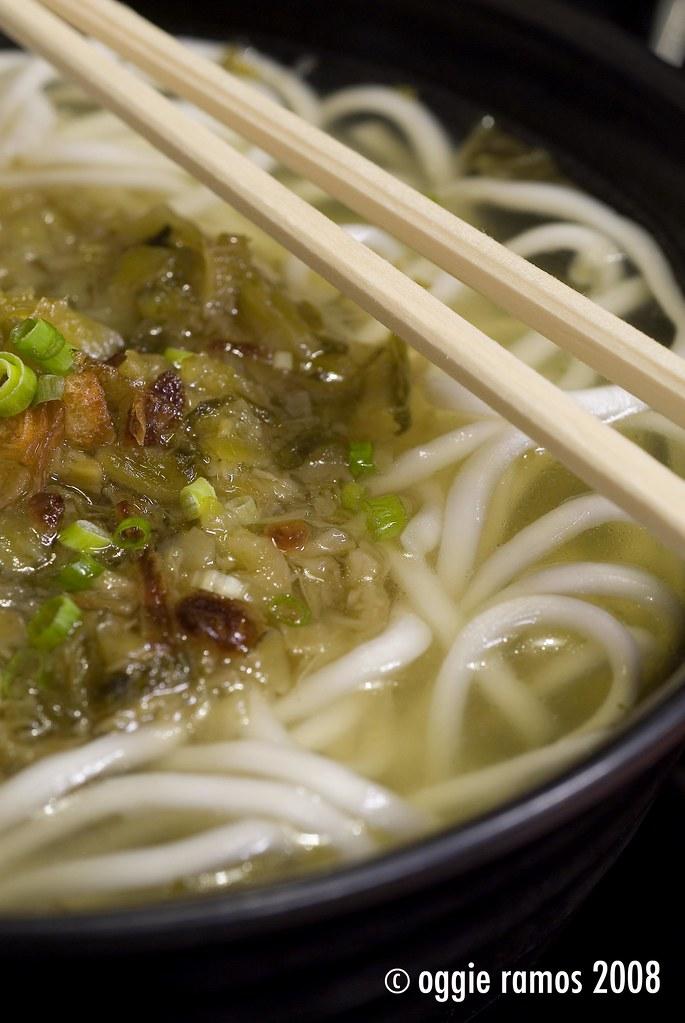 Tasty Dumpling Noodle Soup